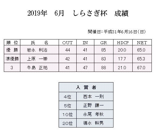 2019年6月 しらさぎ杯 成績.png